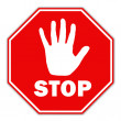 Stop sign — Stock Photo #11085567