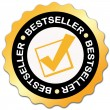 Bestseller sticker — Stock Photo #11161551