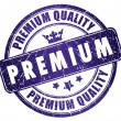 Premium quality stamp - Stock Photo