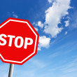 Stop sign — Stock Photo #11161688