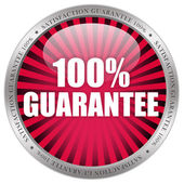 100 guarantee label — Stock Photo