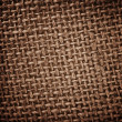 Burlap rough texture — Stock Photo