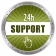 Support icon - Stock Photo