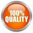 Stock Photo: 100 quality icon