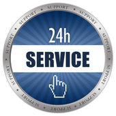 Ikona služby — Stock fotografie