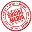 Royalty-Free Stock Photo: Social media