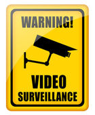 Video surveillance — Stock Photo