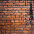 Old grungy brick wall — Stock Photo