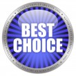 Stock Photo: Best choice icon