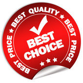 Best choice and price guarantee — Stock Photo