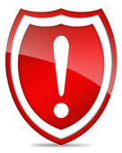 Danger security icon — Stock Photo
