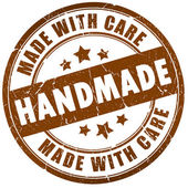 Handmade stamp — Stock Photo