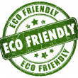 Stock Photo: Eco friendly stamp