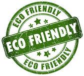 Eco amigable sello — Foto de Stock