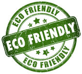 Eco friendly stamp — Foto de Stock