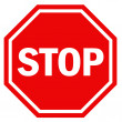 Stop sign — Stock Photo #11896378