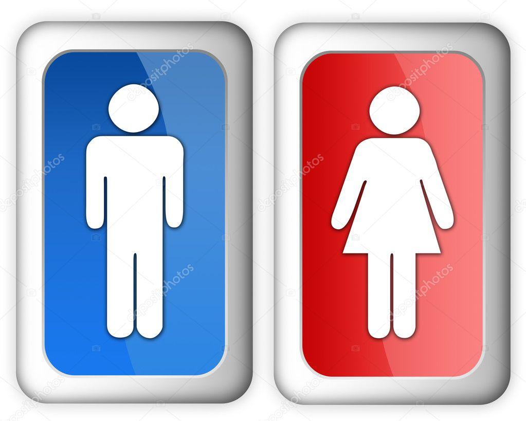 Imagen Baño De Hombres:Women Only Restroom Signs