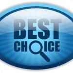 Best choice logo — Stock Photo #12011646