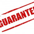 Guarantee stamp — Stockfoto