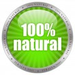 Natural product label — Stock Photo #12011691