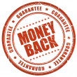 Money back guarantee — Stok fotoğraf