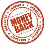 garanzia soddisfatti o rimborsati — Foto Stock