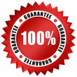 Stock Photo: Guarantee seal