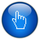 Hand icon — Stock Photo