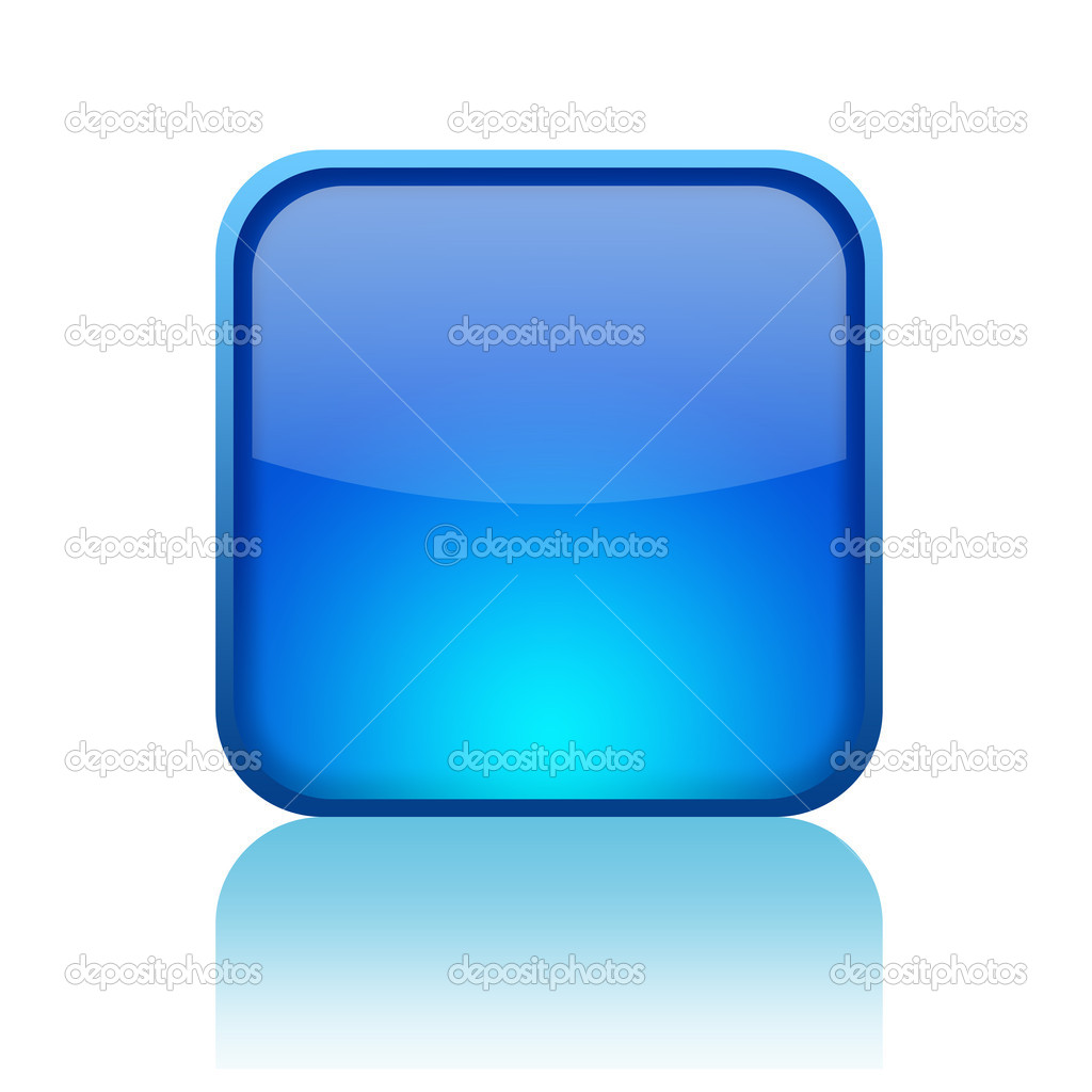 Blank web button isolated on white — Stock Photo #12011647