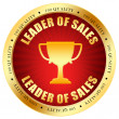 Sale leader icon - Foto de Stock