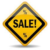 Vektorové prodej ikona — Stock vektor