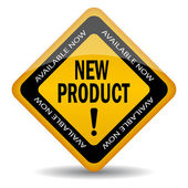 Nouvelle enseigne de produit — Vecteur