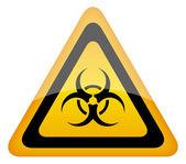 Biohazard vector sign — Stock Vector