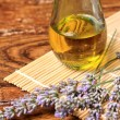 Lavender oil — Stock Photo
