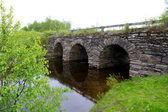 Beautiful old stone bridge — Foto Stock