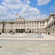 Palacio Real, Royal palace, Madrid — Stock Photo