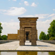 Debod egyptian temple, Madrid, Spain — Stock Photo