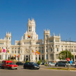 Palacio de Cibeles, Madrid — Stock Photo