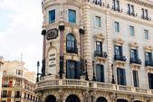Spanische bank, madrid — Stockfoto