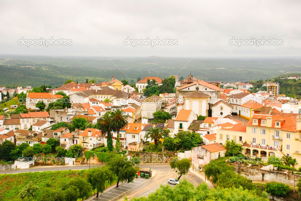 Houses in city of Abrantes, Portugal — Stock Photo #10922294