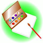 Zestaw do rysowania — Wektor stockowy