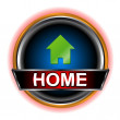 Stock Vector: Home web icon