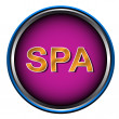 New spa icon - Stock Vector