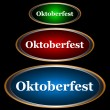 Three icons Oktoberfest - Stock Vector