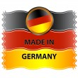 Royalty-Free Stock Vector Image: Icon made in germany
