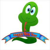 Símbolo de feliz año nuevo — Vector de stock