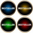 Bestseller icons set — Stock Vector