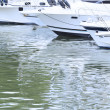 Yachts in German harbor — Stock Photo #11465820