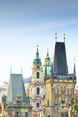 Mala Strana Bridge Tower at Charles Bridge — Stock Photo