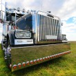 American truck in field — Stock Photo #11599965